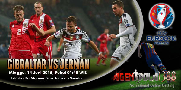 Gibraltar Vs Jerman
