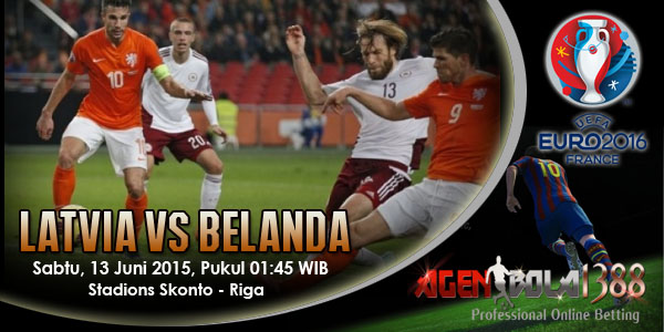 Latvia Vs Belanda