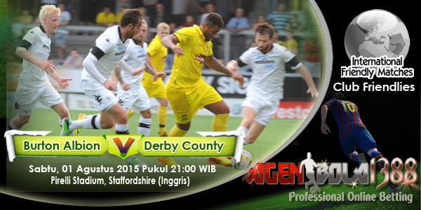 Burton Albion Vs Derby County