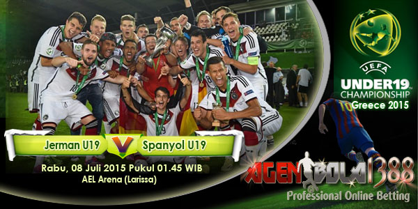 Jerman U19 vs Spanyol U19