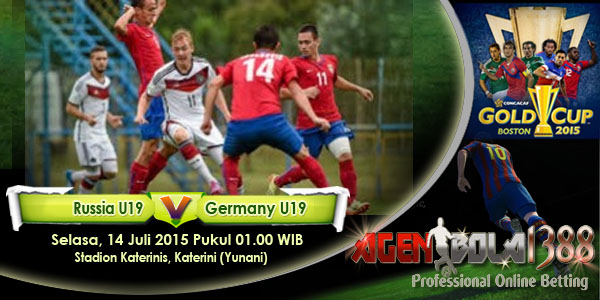 Rusia U19 Vs Jerman U19