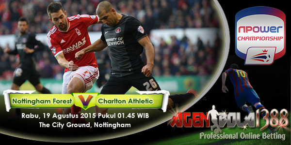 Nottingham Forest vs Charlton Athletic